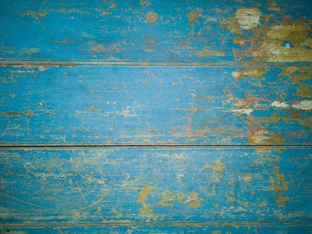 Priorità bassa di struttura di legno invecchiato blu