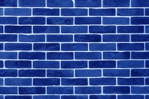 Muro di mattoni blu. interno di un loft moderno. sfondo per il design