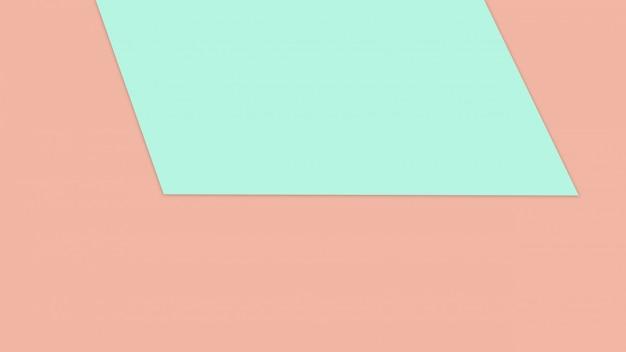 Colore di carta pastello blu e marrone per il fondo di struttura