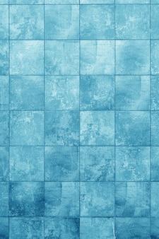 Muro blu dell'edificio. interno di un loft moderno. sfondo per il design