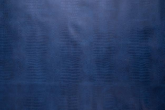 Sfondo di forma di pelle di coccodrillo blu pelle