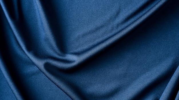 Trama di sfondo panno tessuto blu