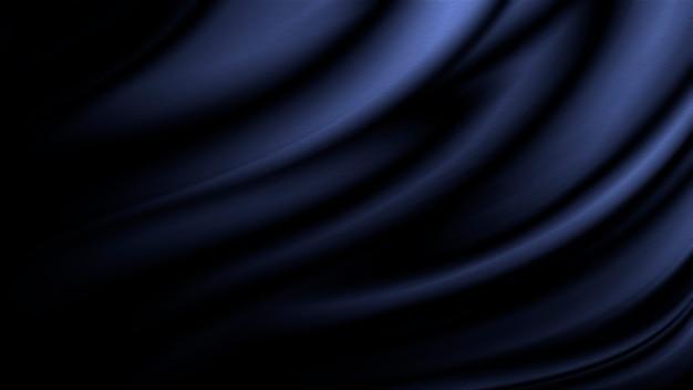 Priorità bassa di struttura del tessuto blu con lo spazio della copia
