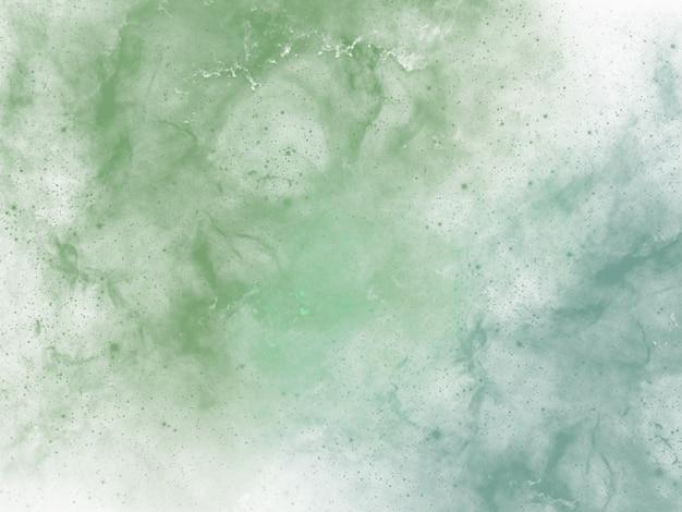 Sfondo acquerello verde blu nei colori pasquali o primaverili con texture grunge in alba astratta