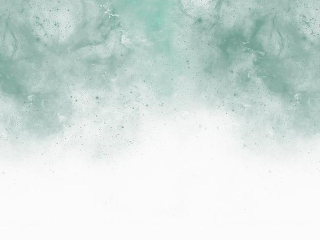 Sfondo acquerello verde blu Foto Premium