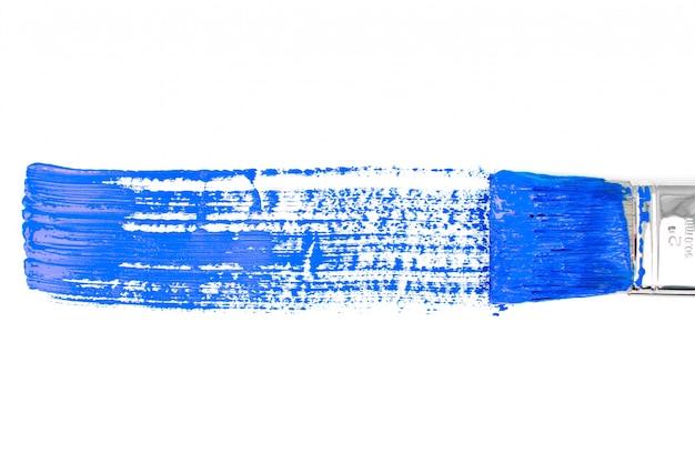 Linea di verniciatura orizzontale blu