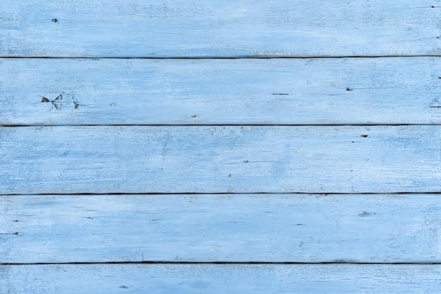 Plance di legno chiaro blu