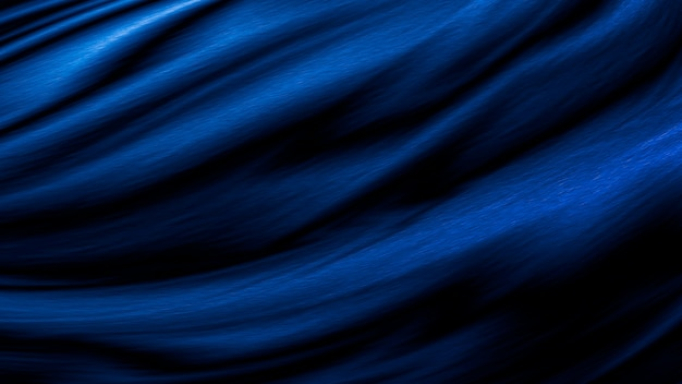 Sfondo blu tessuto di lusso con spazio di copia