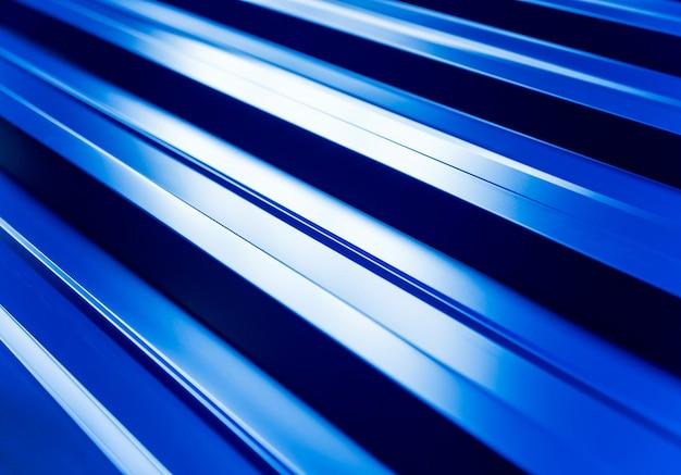 Tegole metalliche blu