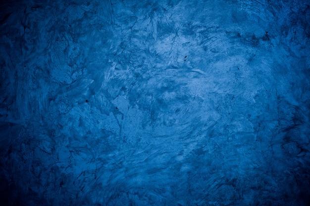 Mortaio blu texture di sfondo crepa parete di fondo