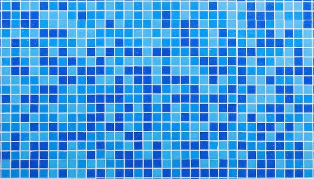 Tessere di mosaico blu