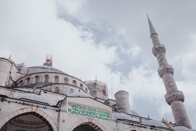 Moschea blu, esplorare la turchia, visitare il concetto di istanbul.