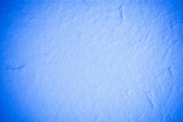 Superficie in carta di gelso blu.