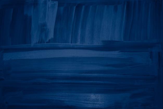 Pennellate di vernice blu parete sfondo texture