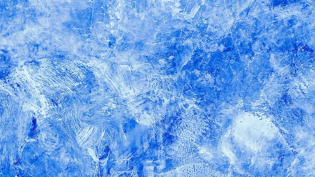 Struttura del fondo di lerciume verniciato blu. bello fondo blu decorativo astratto della parete. bandiera di struttura con spazio per testo.