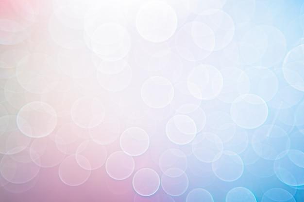 Sfondo di luci sfocate rosa blu
