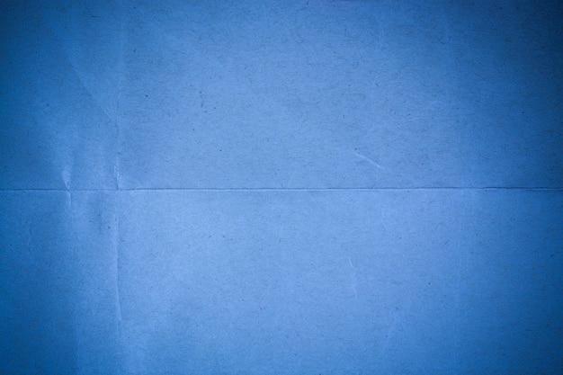 Sfondo di carta riciclata blu.