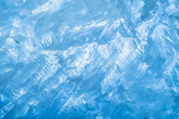 Sfondo blu roccia o iceberg blu