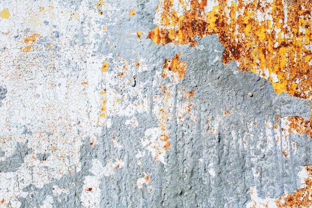 Struttura blu del metallo della ruggine, vecchia superficie di corrosione del ferro