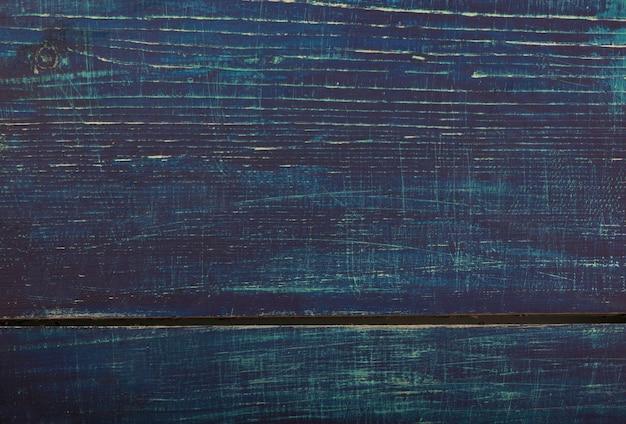 Fondo legnoso rustico blu