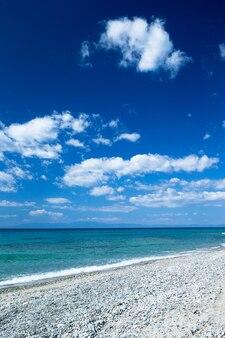 Mare azzurro in grecia