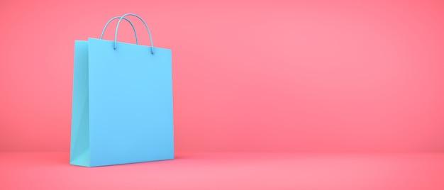 Borsa shopping blu