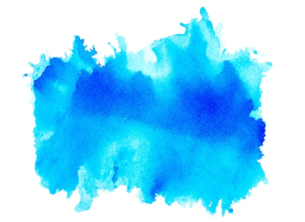Schizzi blu acquerello