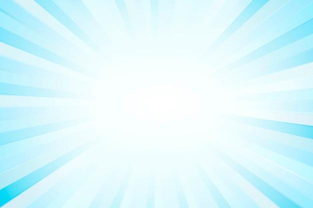 Sfondo con motivo a raggi di sole blu