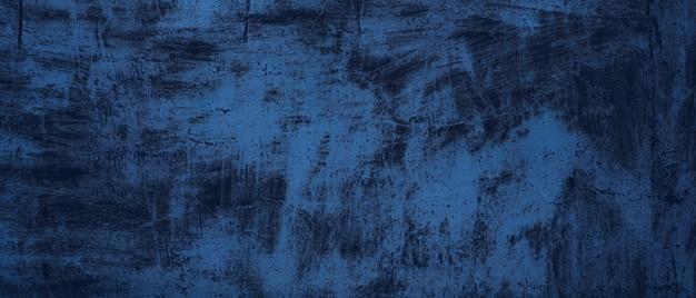 Trama di sfondo blu. metallo scuro grezzo con ruggine