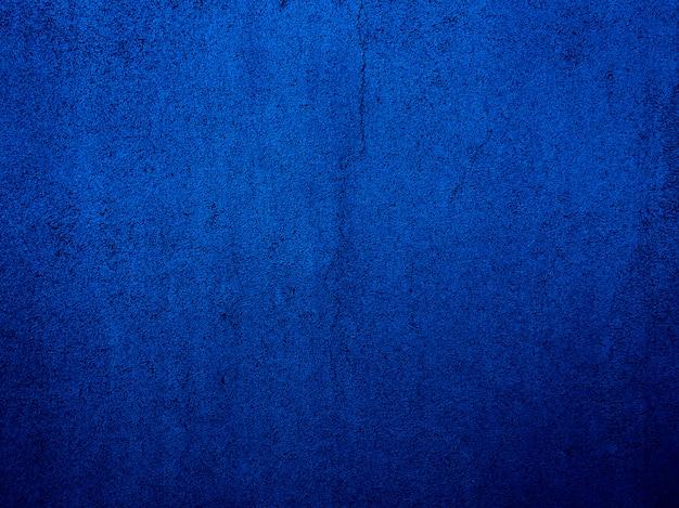 Pendenza blu del fondo dell'estratto della parete con la scenetta. Foto Premium