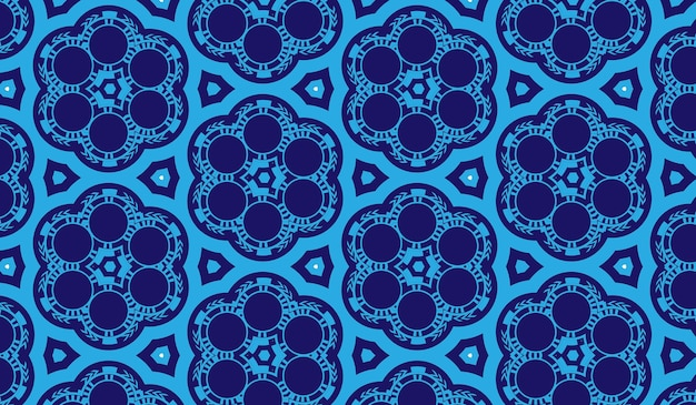 Fondo astratto del contesto blu della parete