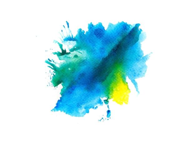 Sfondo blu acquerello.