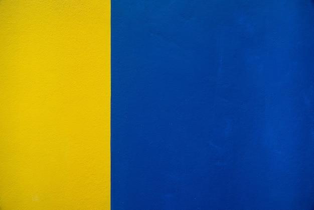 Trama di sfondo muro blu e giallo