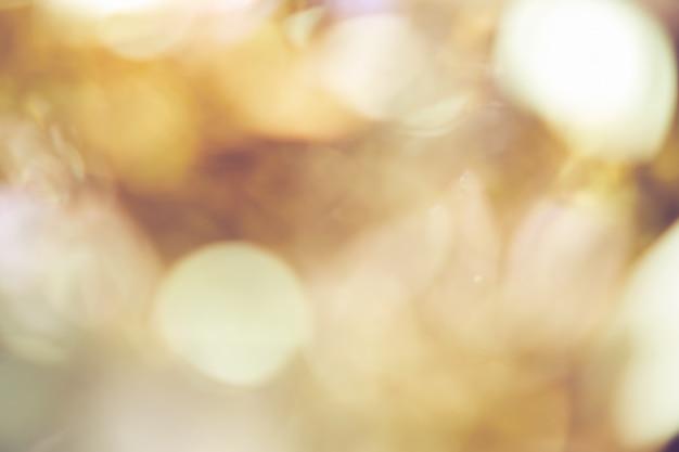 Sfocatura sfondo di colore oro bokeh luce