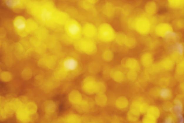 Sfondo sfocato astratto color oro