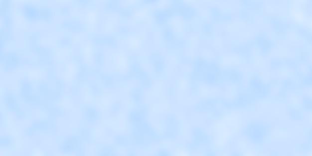 Sfondo blu pastello astratto sfocato con effetto bokeh.