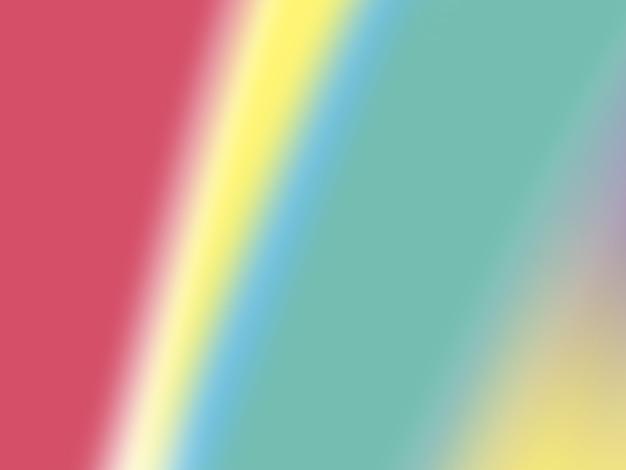 Sfondo astratto pop sfocato con colori primari vividi