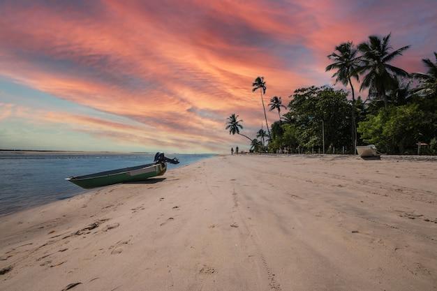 Boipeba isola tropicale nel nord-est del brasile a bahia.