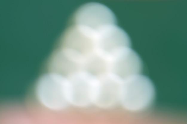 Luci a forma di triangolo di natale o albero