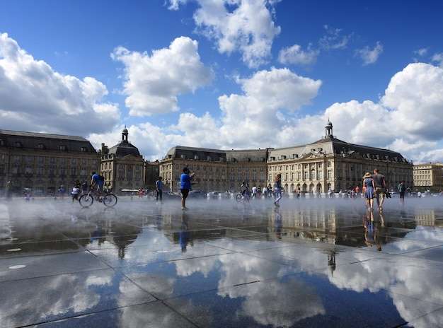 Piazza bola burdeos francia