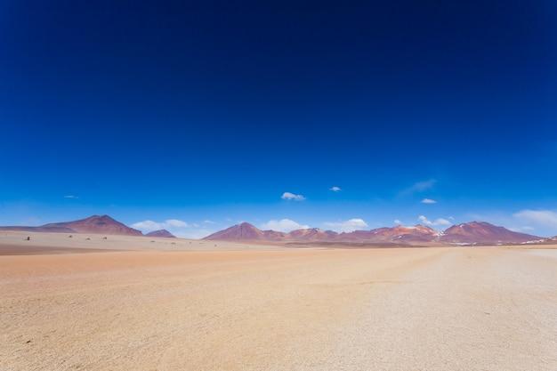 Paesaggio boliviano, vista del deserto di salvador dalì