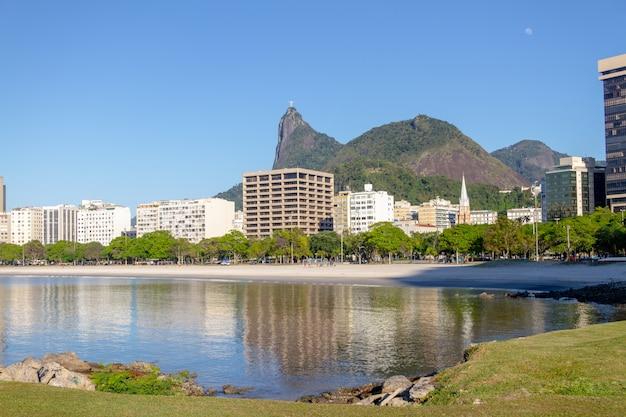 Baia di botafogo a rio de janeiro in brasile.