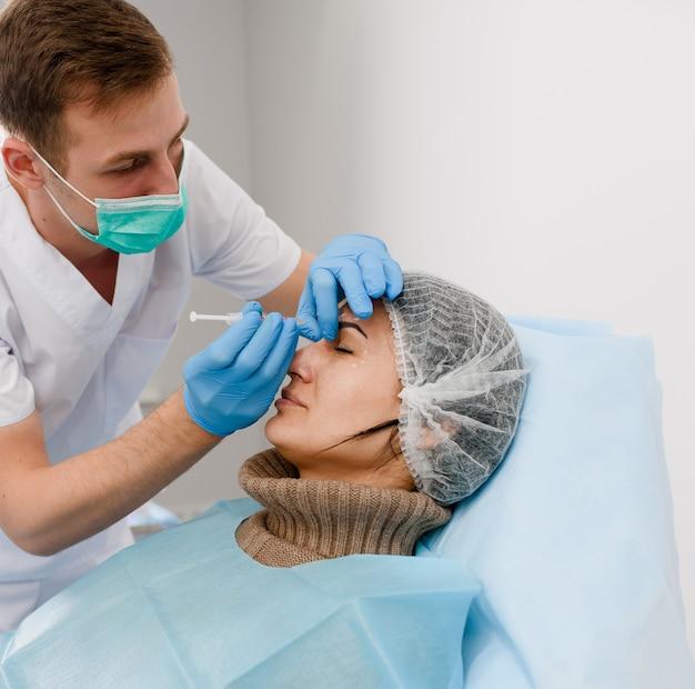 Iniezioni di botox