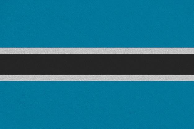 Bandiera del tessuto del botswana