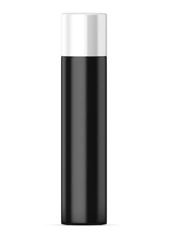 Bottiglia deodorante isolato su uno sfondo bianco