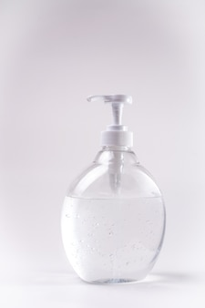 Gel disinfettante per biberon alcol disinfettante per mani verticali bianco neutro