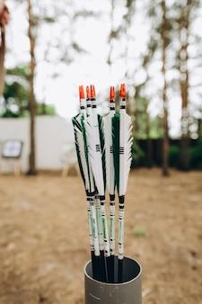 Le frecce di prua mostrano un cecchino con precisione di interesse