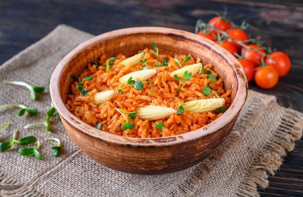 Ciotola di riso messicano