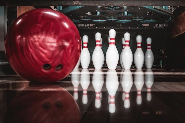 Palla da bowling. concorrenza.
