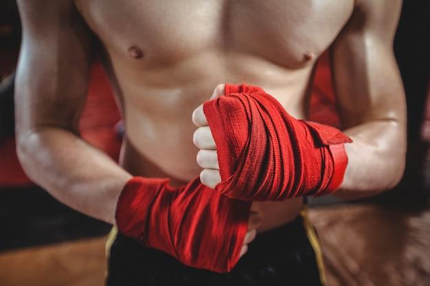 Cinturino da boxe avvolgente